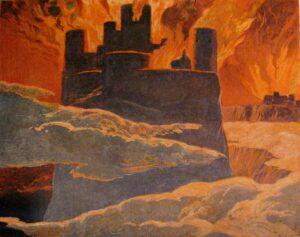 Asgard staat in brand tijdens Ragnarok