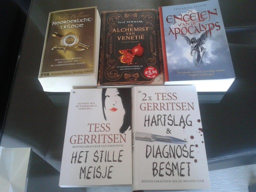 #50books: boeken apart leggen