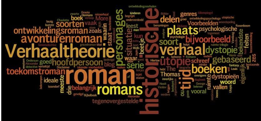 Verhaaltheorie 7: de roman onderverdelen