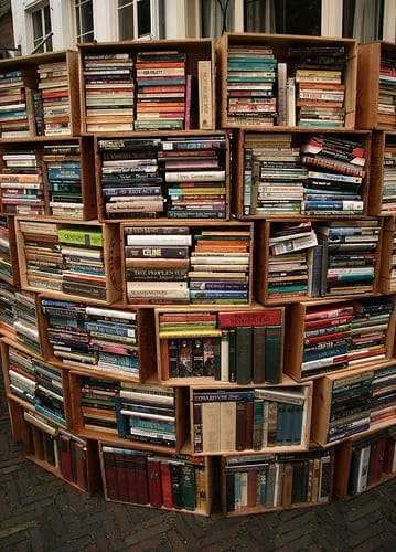 #50books: boeken in dozen