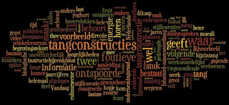 tangconstructies