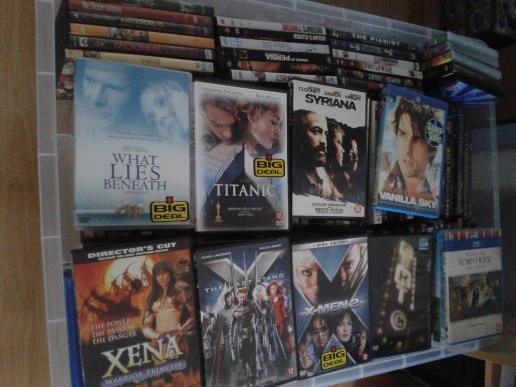 dvd's, ventileren, wie maakt me los