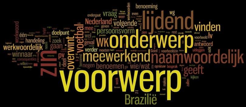 Grammatica: onderwerp, lijdend voorwerp en meewerkend voorwerp