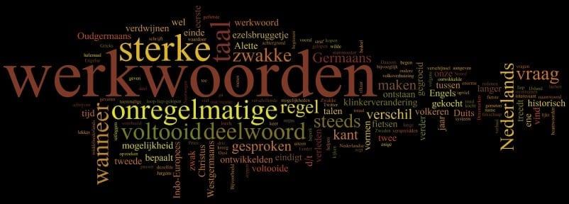 Regels voor werkwoorden
