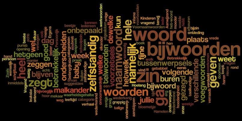 Grammatica: bijwoord en voornaamwoord