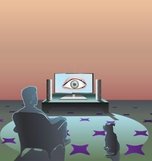 big brother is watching you: onschuld verloren