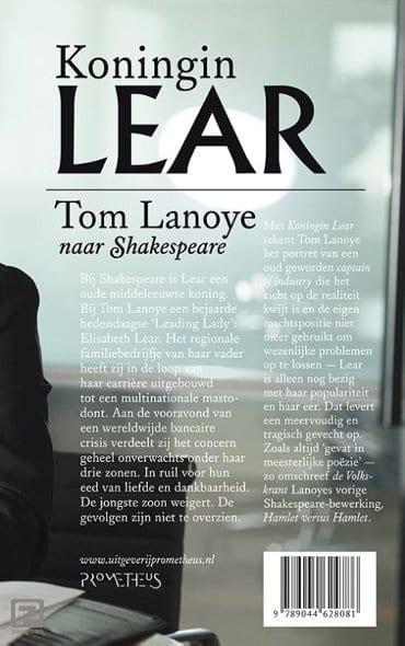 Cover van Tom Lanoye Koningin Lear
