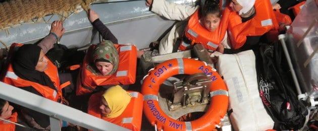 Ongenuanceerd en kort door de bootvluchteling