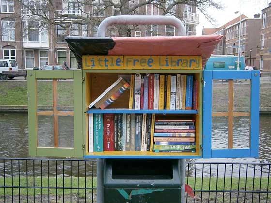#50books vraag 21: bibliotheken weg?