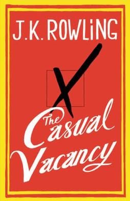 buiten het boekje schrijven: the casual vacancy