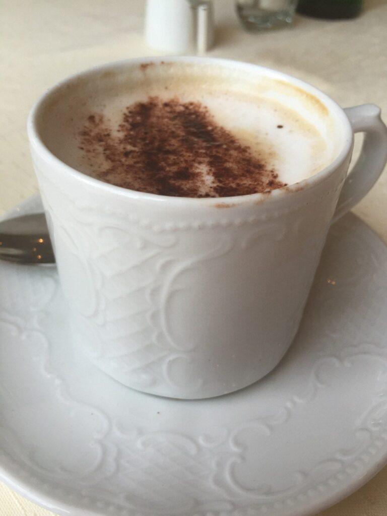 Mooi concept: cappuccino