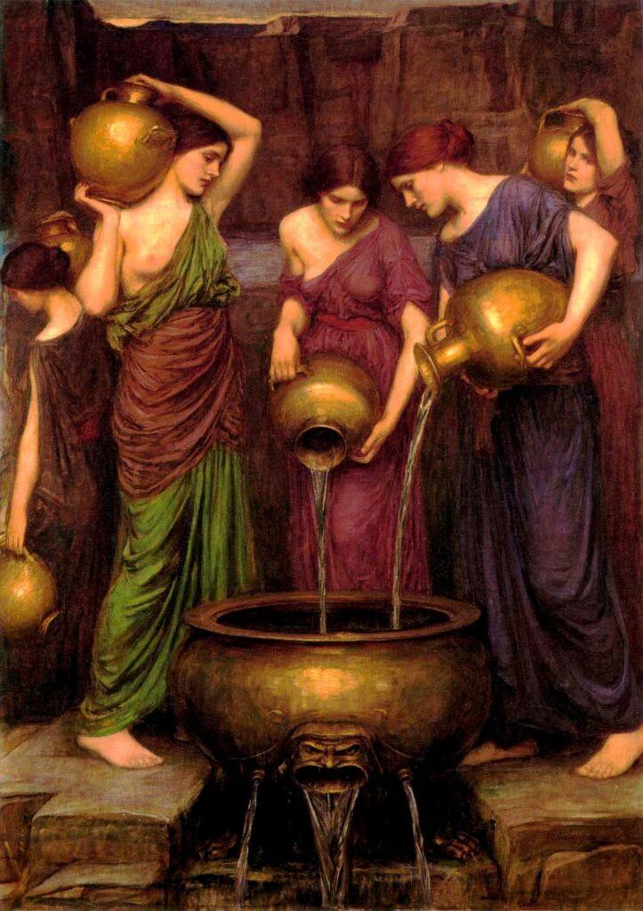 De Danaïden vullen het bodemloze vat