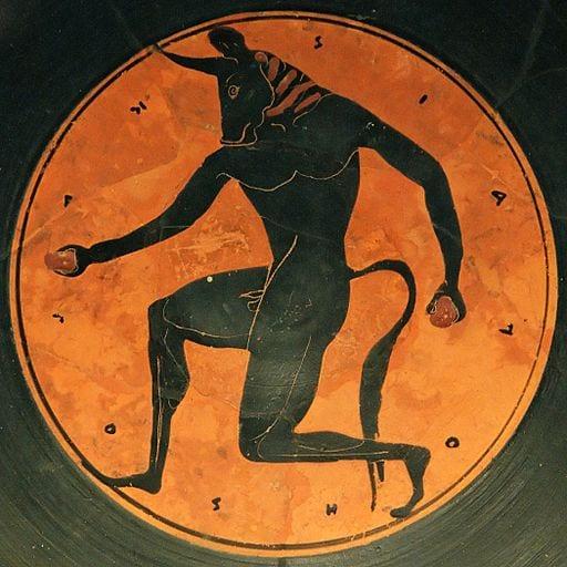 De mythe van de Minotaurus