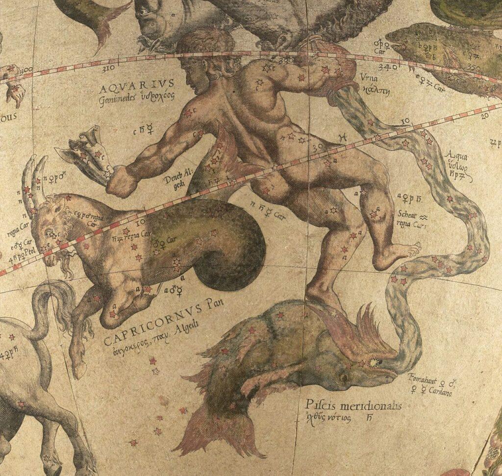 Waterman Ganymedes, de schenker der goden