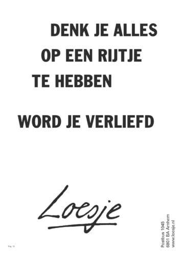 Spreekwoorden 36: liefde