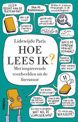 Omslag Hoe lees ik - Lidewijde Paris