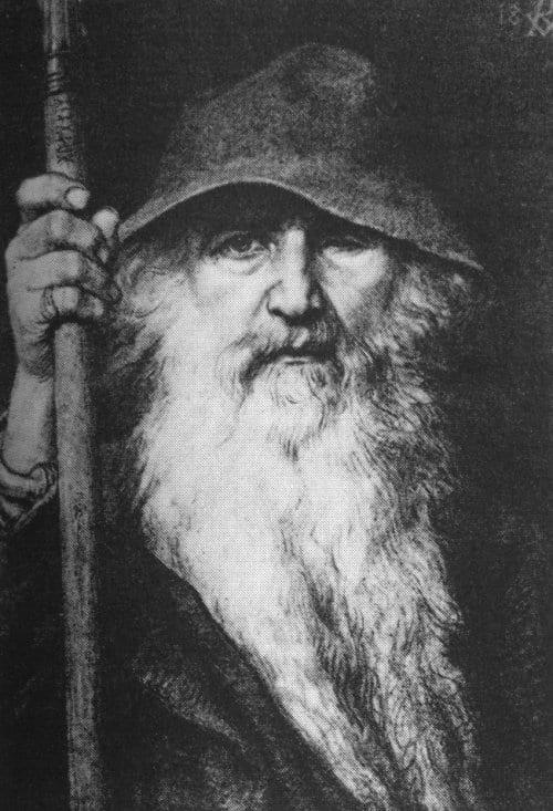 Odin, de alvader van de Noordse goden