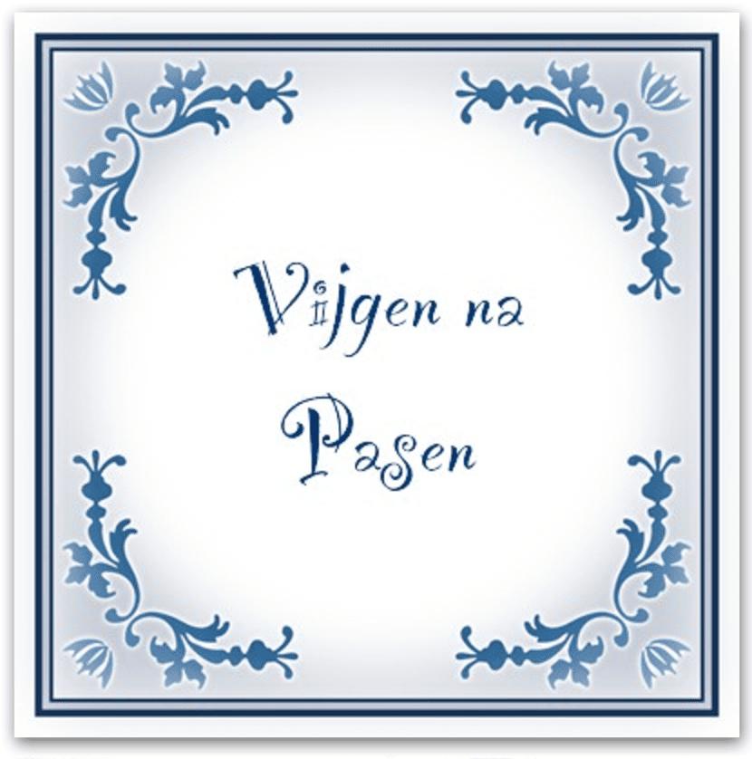 Spreekwoord 15: Pasen