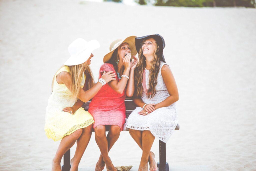 prietpraat met vriendinnen