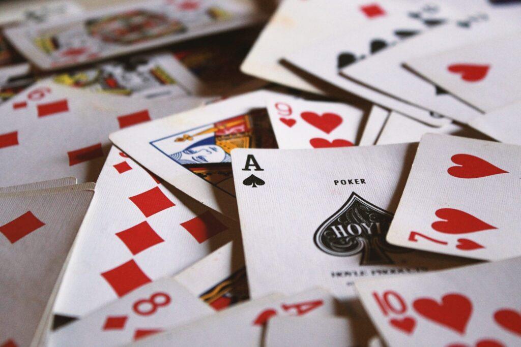 Spel kaarten op tafel uitbreidingsset eva