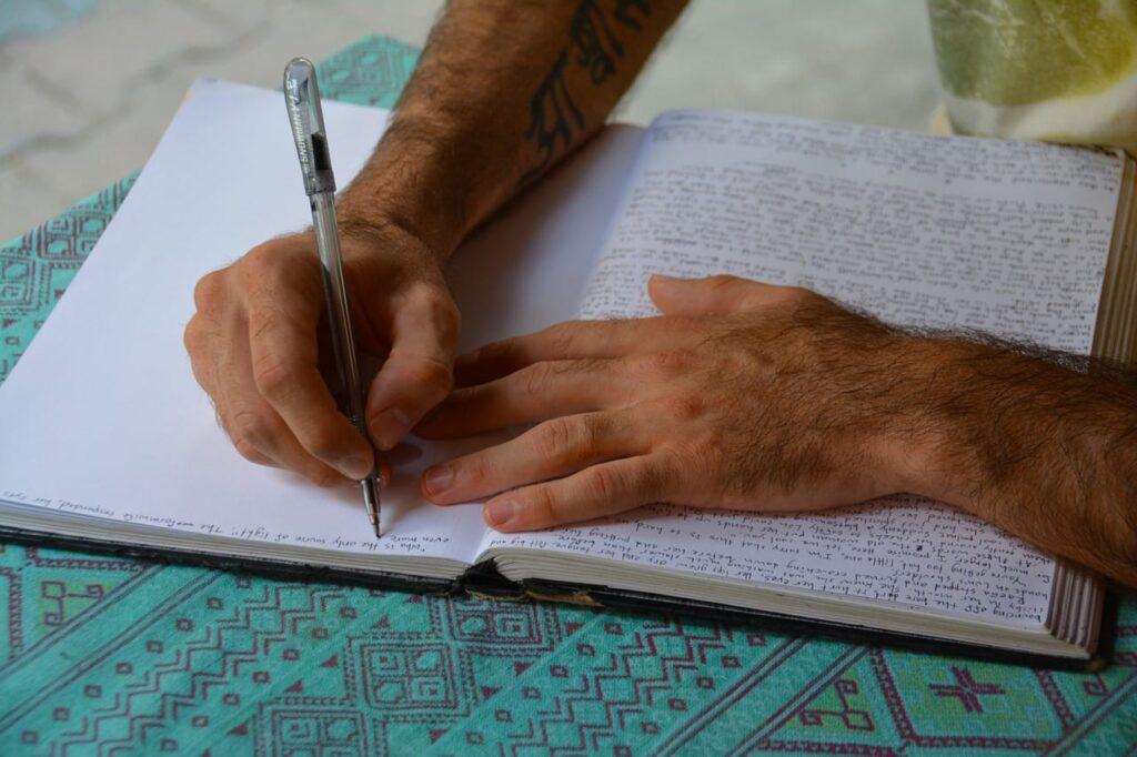 je volgende boek schrijven?
