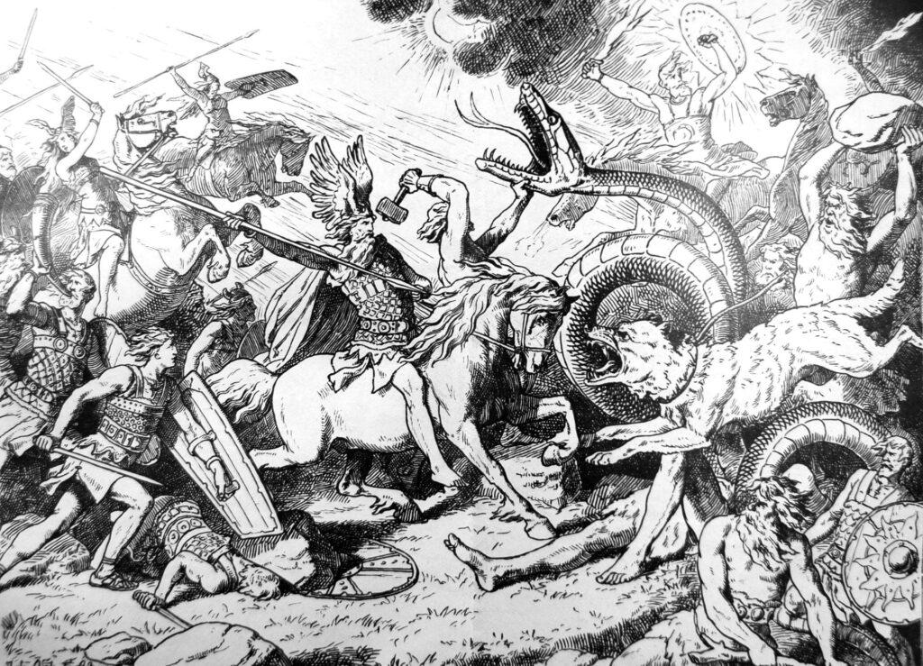 De mythe van de Ragnarok