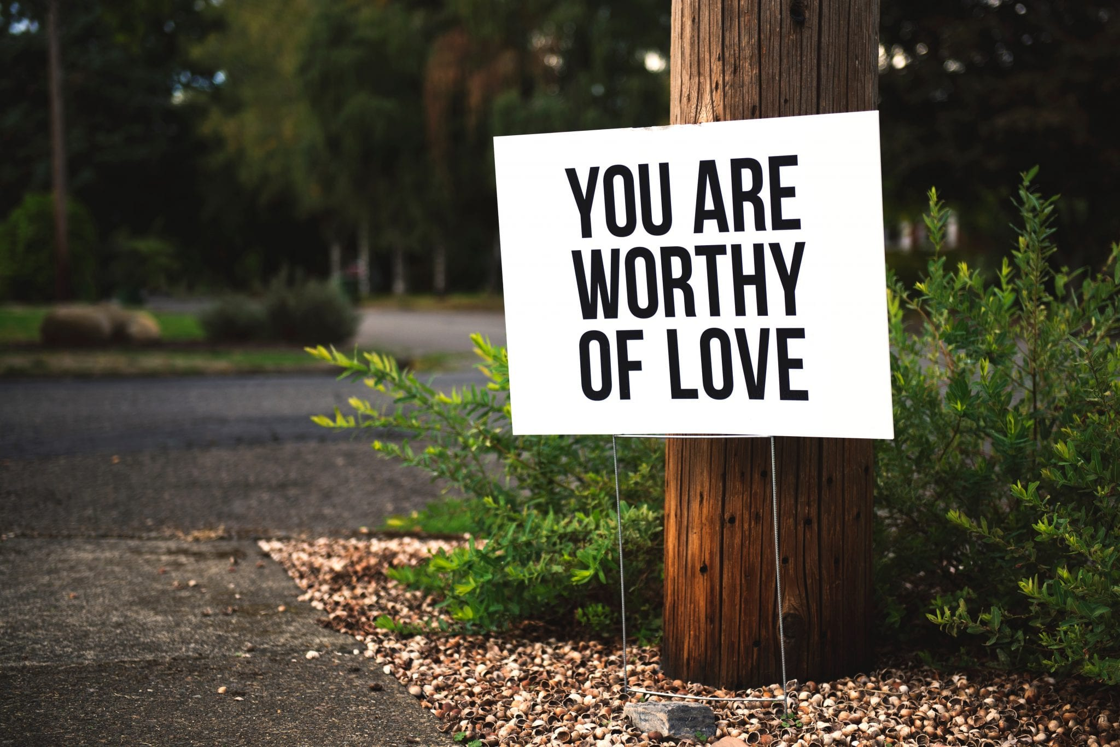 Je bent de liefde waard