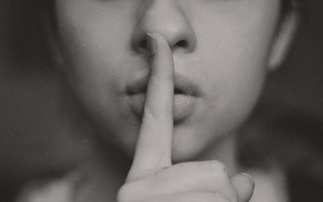 spreken is zilver, zwijgen is goud