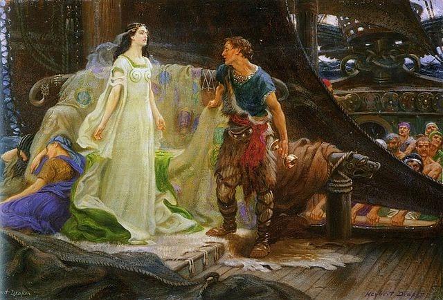 Tristan en Isolde: de ontmoeting
