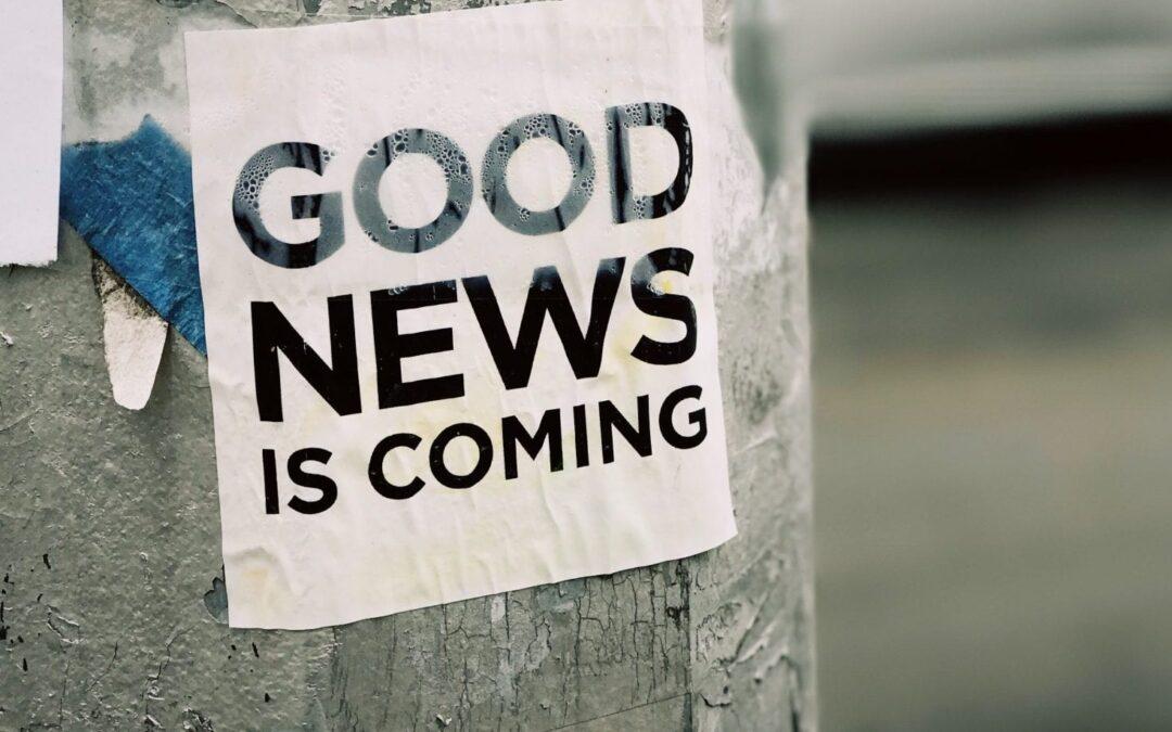 Goed nieuws is geen nieuws, maar wel nieuw