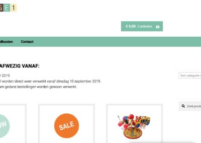 Webshop Oplage 1