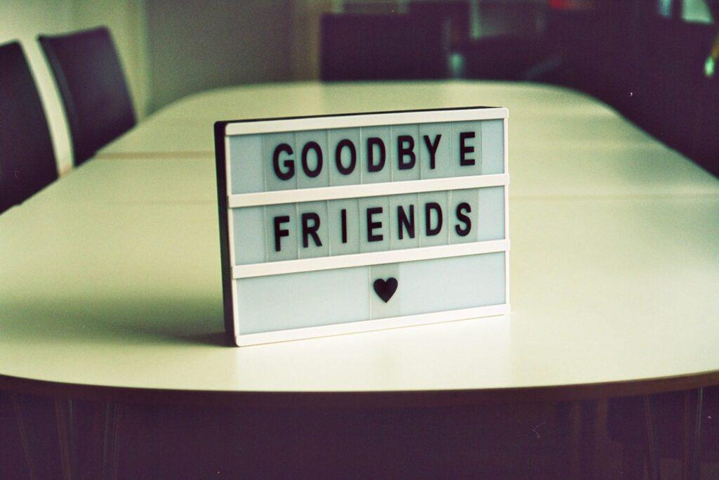 laatste #WOT: goodbye friends