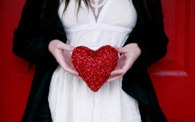 In de envelop zat een hart…