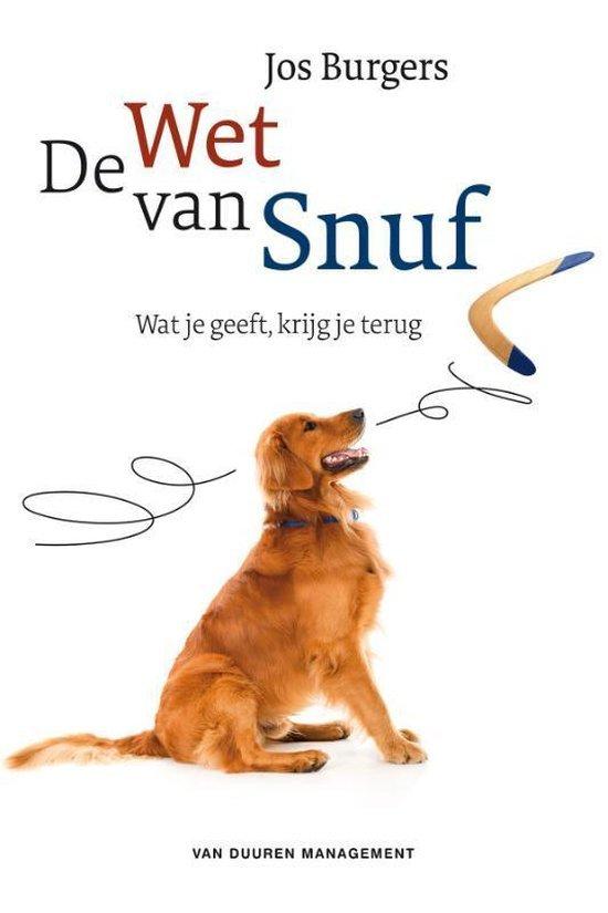 Cover van De wet van Snuf